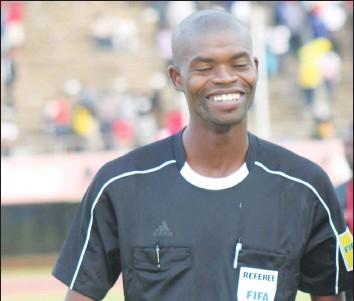 CAF Confirms Thulani Sibandze As Referee For KCCA Vs Paradou Match