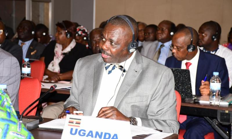 Deputy Speaker Oulanyah In Rwanda For African Caribbean and Pacific Summit