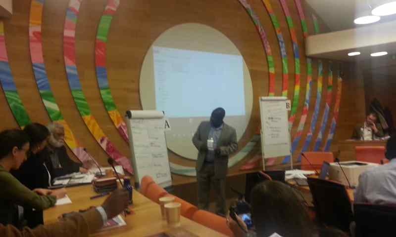 Dr Rwamigisa   Represents Uganda At FAO  Agricultural Workshop In Rome