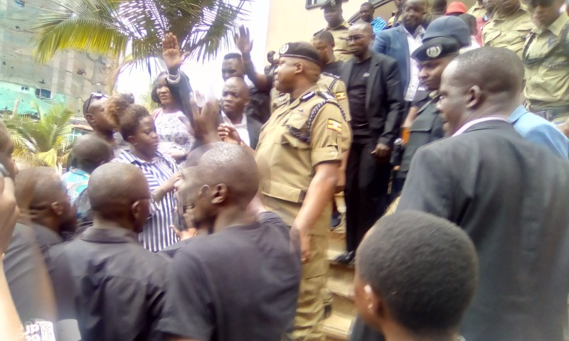 Chaos In K'la As Police Battle Journalists Over Petition Against Violence