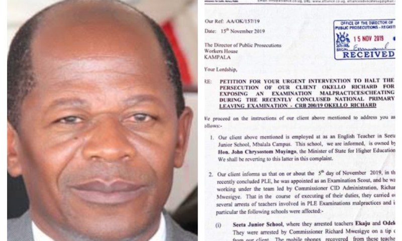 Teacher Abducted After Exposing UNEB Exam Malpractices At Education Min. Muyingo's School
