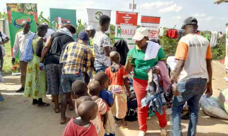 Jubilation As PAP Delivers X-Mas Goodies To Nakivale Refugees