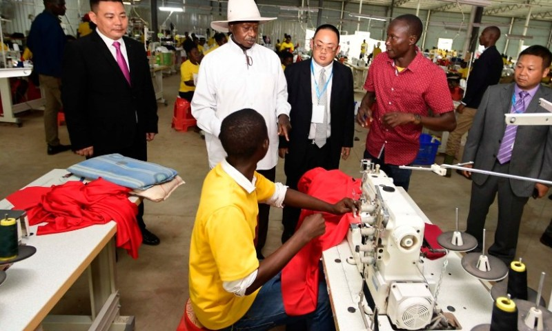 President Museveni Commissions Namunkekera Industrial  Park, Opens 9 Factories