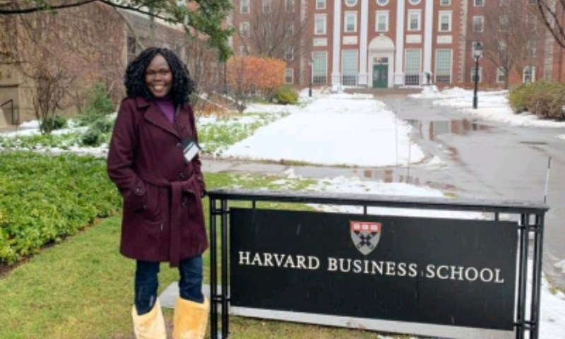 Minister Anite Joins Prestigious Harvard Business School