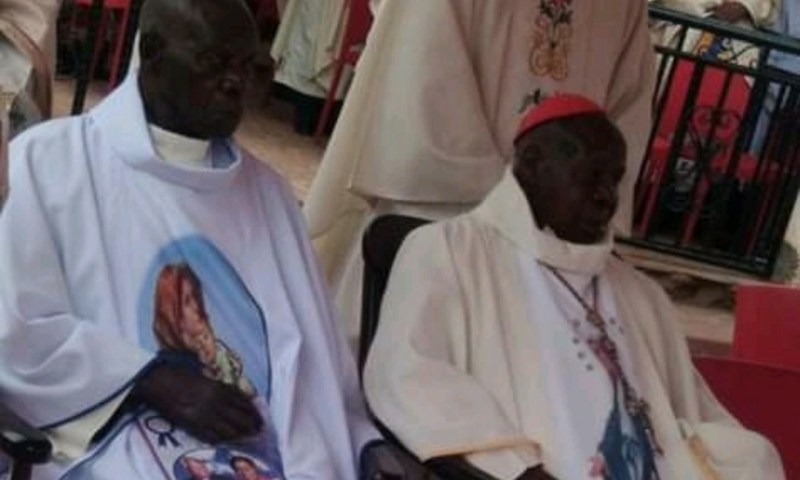 Cardinal Wamala, Brother Celebrate 90 Years As God's Servants