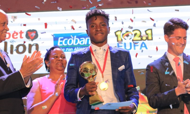 FUFA Crowns Okello, Nalukenge   Best Football Stars 2019