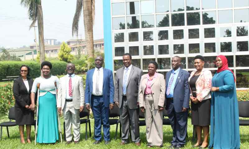 Water  & Environment  Minister Cheptoris Blesses New NWSC Board