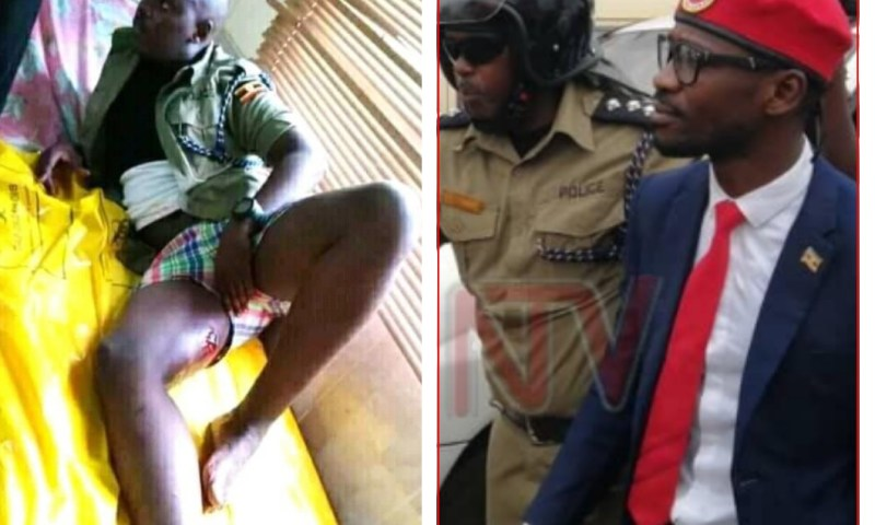 OC Kasangati Police Survives Being Lynched By Bobi Wine Supporters, Shot In Leg