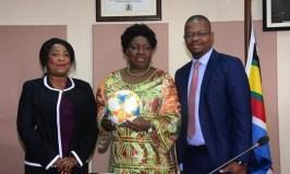 FIFA Secretary General Fatma Samoura Visits Uganda