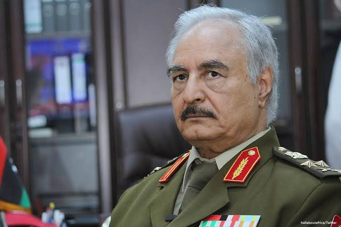 Libyan  Field Marshal Haftar  Declares War Against United Nations Forces