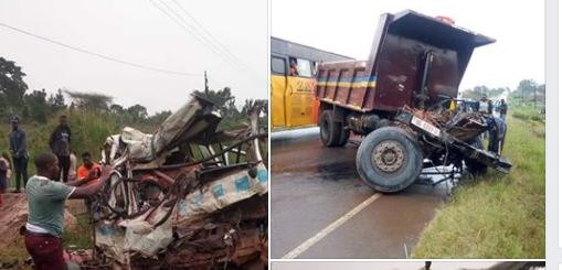 8 Perish After Prisons Truck Rams Into Taxi, Boda-boda