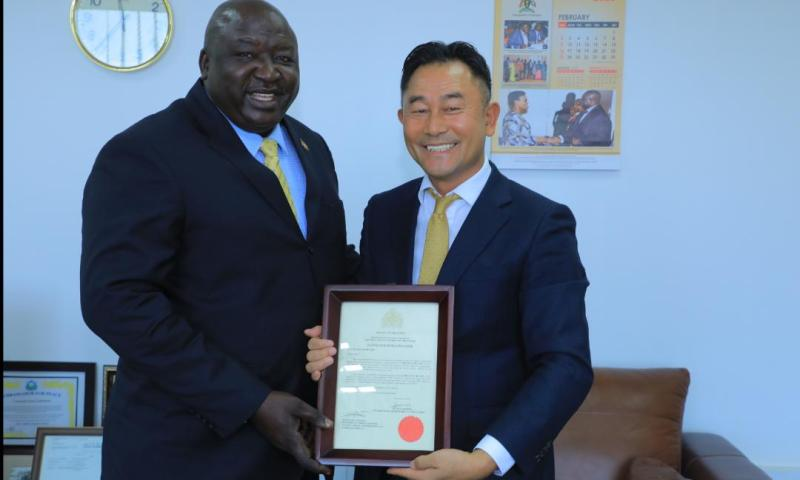 Gambia Opens Consulate In Uganda, Appoints Korea's Lee Sung Ho 1st Consul