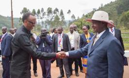 Presidents Kagame, Museveni Arrive In Katuna For Rwanda  Uganda  Dialogue