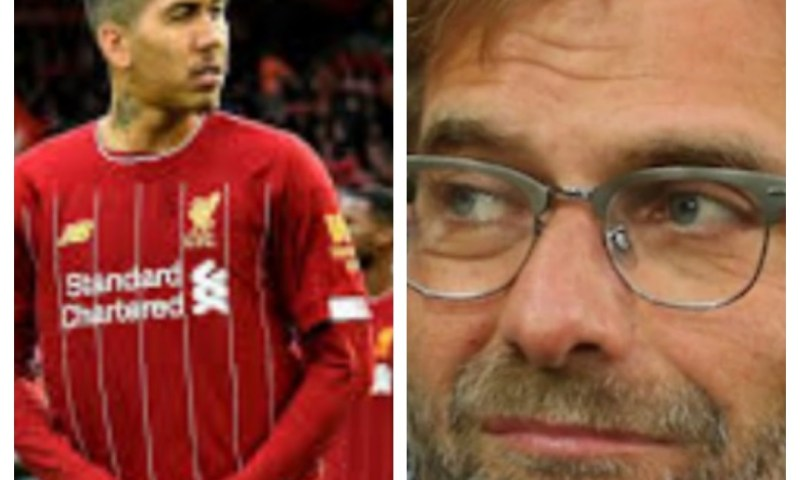 'Roberto Firmino' Is Unique'- Jürgen Klopp