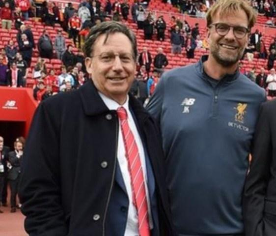 'I'm Pinching Myself Over Jurgen Klopp'-  Liverpool Chairman Tom Werner