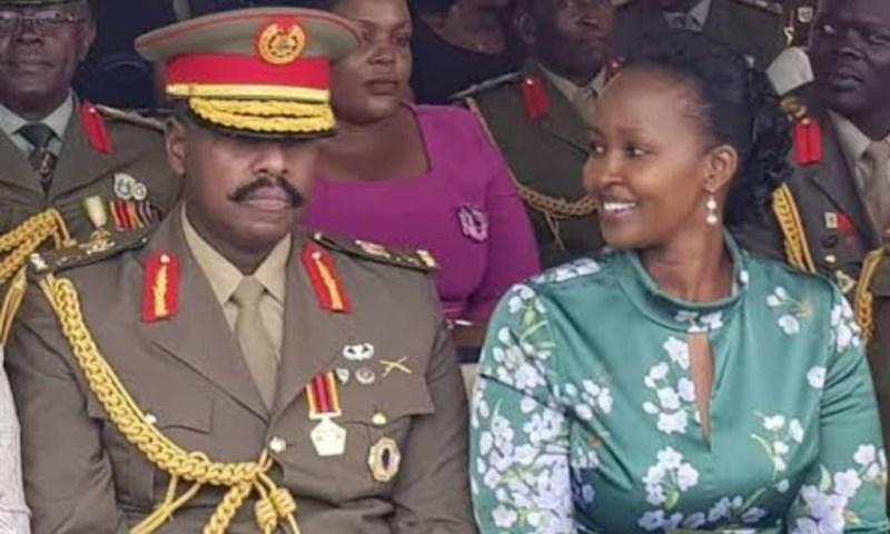 Gen. Muhoozi Heaps Praises On Wife Charlotte