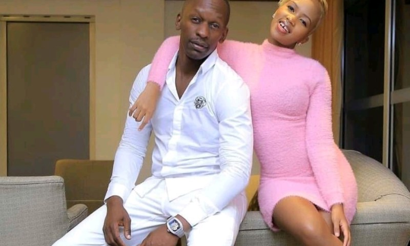 TV Star Gashumba Drags Lover God's Plan To Police For Clobbering Her