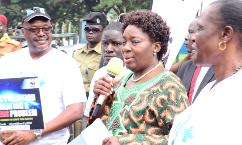 Kadaga calls for enforcement of laws against plastics