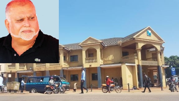 Dfcu Bank Flees Tycoon Sudhir's Iganga Building