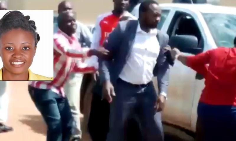Deadly War: Bunyangabu District LC 5 Boss Ategeka Slaps RDC Asiimwe Over Gov't Vehicle