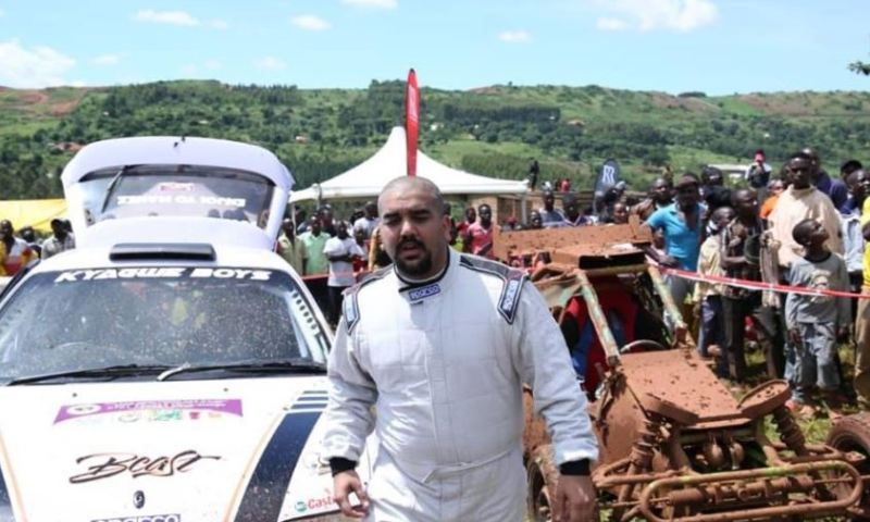 Senior Driver Rajiv Vows To 'Slaughter' Kenyans As He Heads For KCB Nakuru Rally
