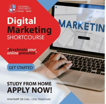 Victoria University Unveils Online Digital Marketing Course Which You Can Study At Home