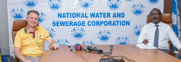 MTN Joins NWSC In Boosting Steady Water Supply To Fight Spread Of COVID-19 Pandemic