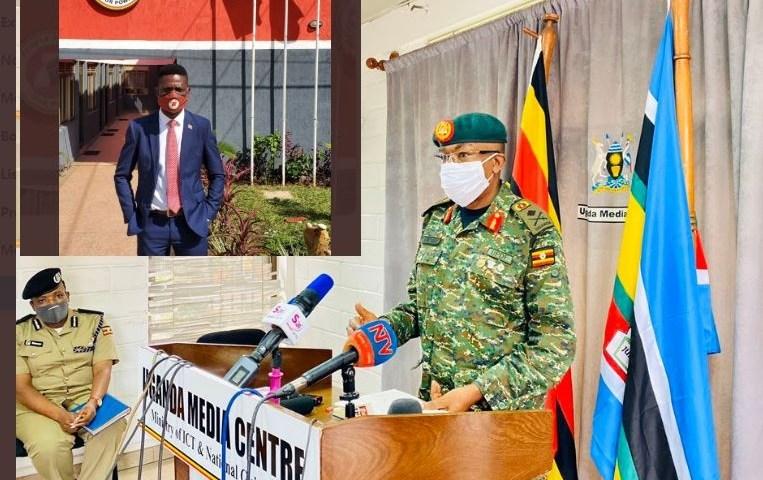 UPDF Bans Bobi Wine's People Power COVID-19 Masks