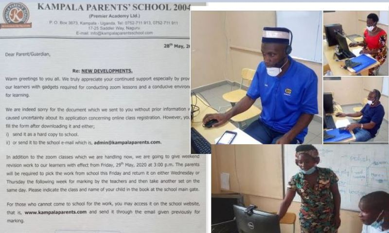 Kampala Parents' School Clarifies On Applications For Zoom Classes