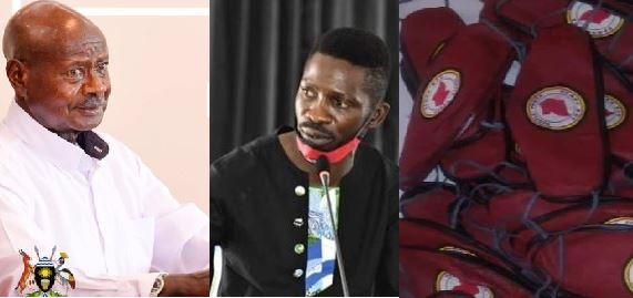 Bobi Wine,  Speaker Kadaga Disagree With Museveni On Nytil COVID-19 Masks