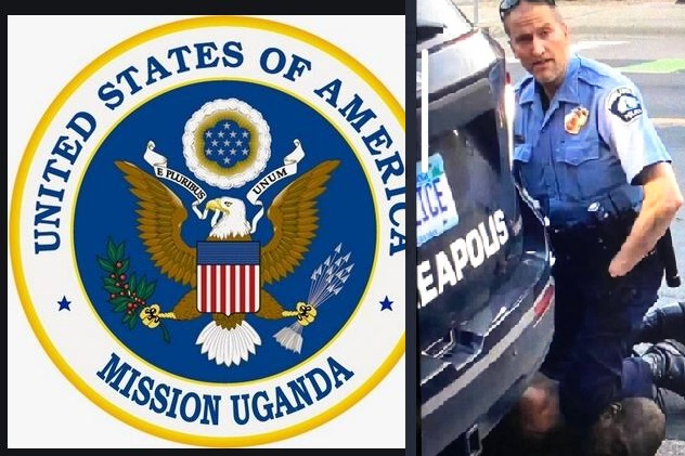 Angry Ugandans Attack US Embassy In Uganda Over George Floyd Murder