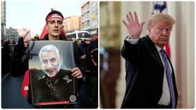 Iran Issues Arrest Warrant For Donald Trump, Over Gen. Qassem Soleiman's Death