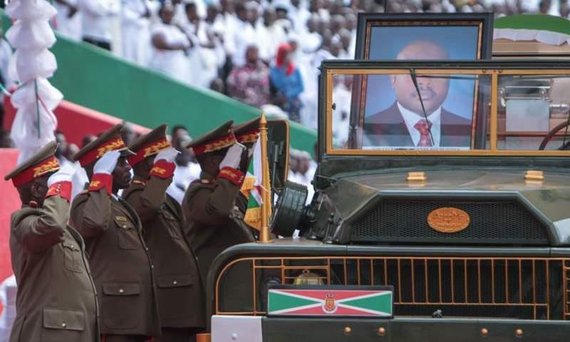 Burundi:Mourners Fill Stadium For Nkurunziza Farewell, Buried In State Funeral