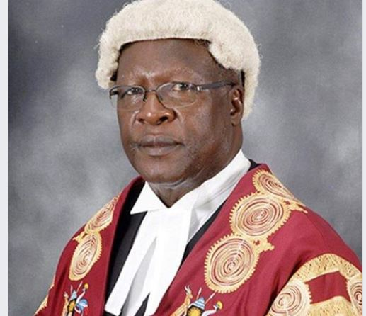 Chief Justice Katureebe Hangs Robes, Vacates Coveted Position As Museveni Hunts For Replacement