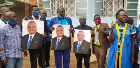 Just In: Police Heavily Deployed At FDC Offices As It Unveils Erias Lukwago