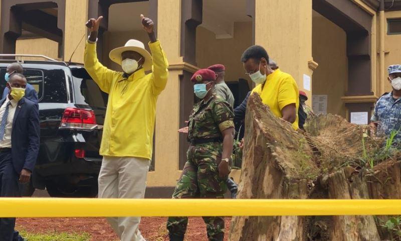 President Yoweri Museveni Returns NRM 2021 Presidential Nomination Forms