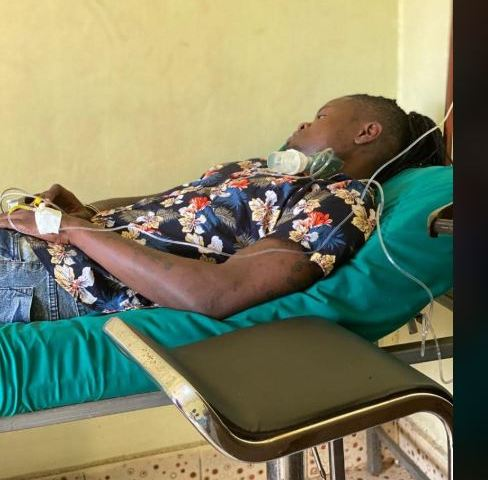 Pallaso Finally Arrested, Handcuffed On Hospital Bed