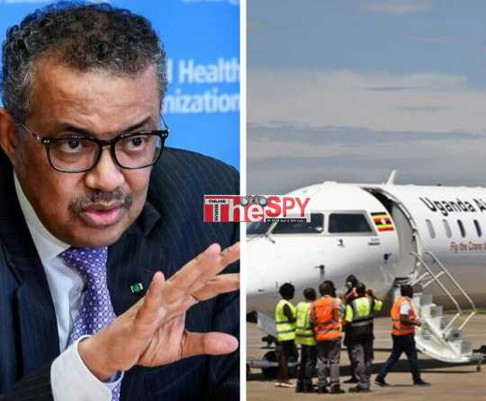 WHO Urges Safety As Uganda Airlines Repatriates
