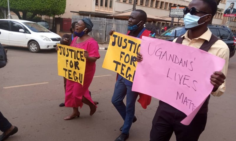 Dr.Stella Nyanzi, Muk Students Arrested Over 'Justice For Tegu' Protest