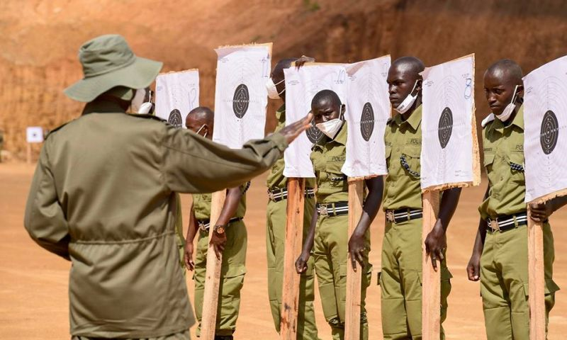 Museveni Passes Out 4809 Police Officers, 200 Disqualified After 1yr Training
