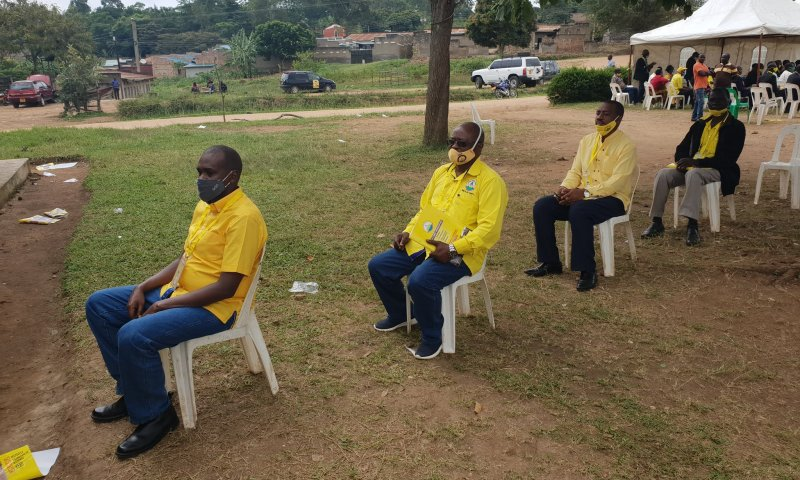 CEC Elections:Min.Tumwebaze Leads NRM Carders For Scientific Voting In Kamwenge