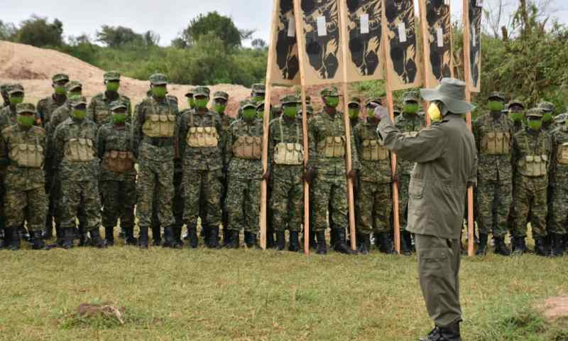 President Museveni Passes Out Thousands Of Army Recruits Ahead Of 2021 Elections