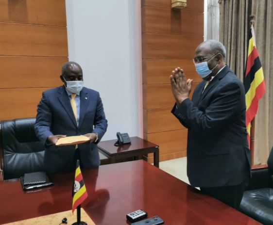Prime Minister Rugunda Officially Returns To Duty After Surviving COVID-19