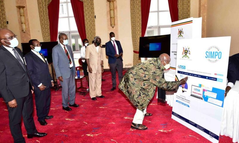 President Museveni Launches National Intellectual Property Policy & Security Interest in Movable Property Registry