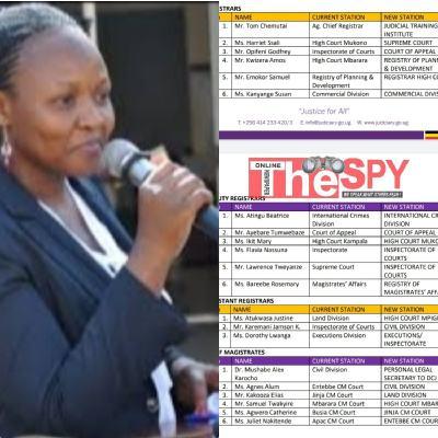 Full List: Chief Registrar Axes 18 Registrars, Magistrates