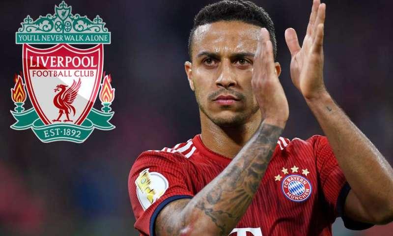Latest PL Transfers:Liverpool Finally Breaks £27m Deal With Bayern Munich Star Thiago Alcantara