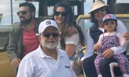 Pomp & Glamour As Money Mogul Sudhir Ruparelia, Family Tour Kidepo Valley National Park