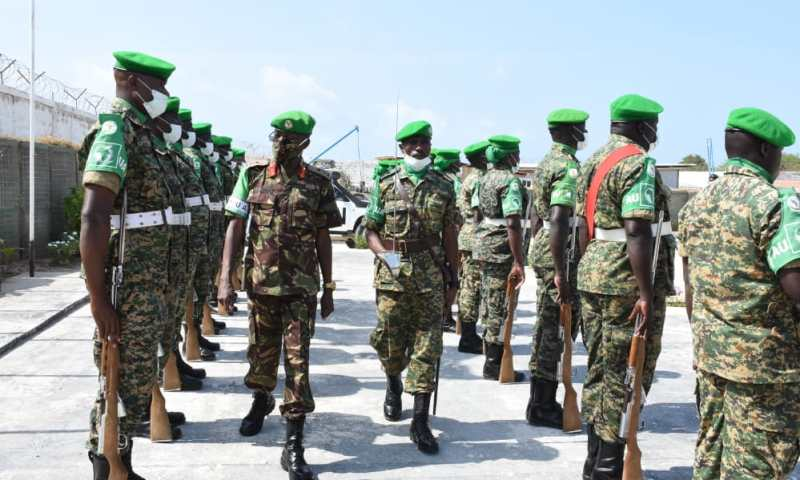 African Union Awards Ugandan Troops In Somalia For Their Loyalty To War Torn Islamic State
