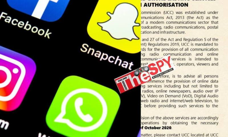 You Need To Get Licence Before You Go Live On Facebook Or WhatsApp-UCC Warns Netizens