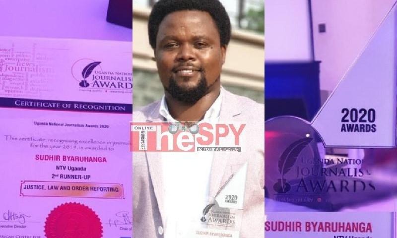 NTV Uganda's Investigative Reporter Sudhir Byaruhanga Scoops ACME 2020 Award